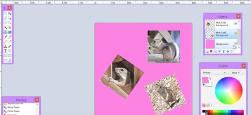 Peindre comment faire un collage photo