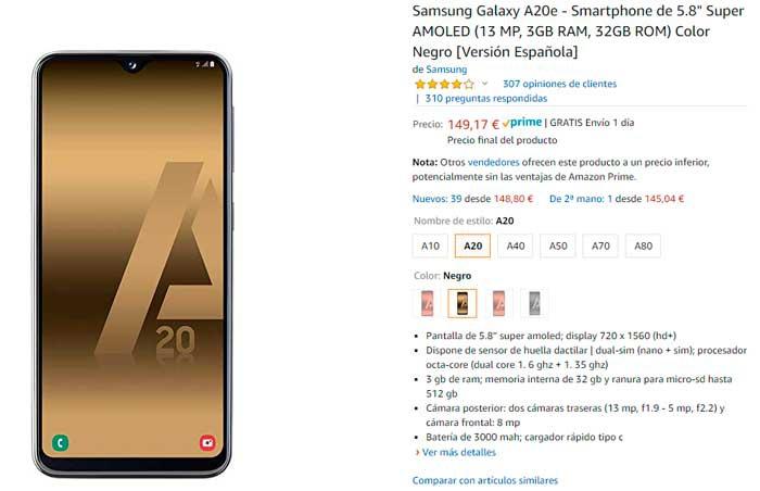 Harga Samsung Galaxy A20e