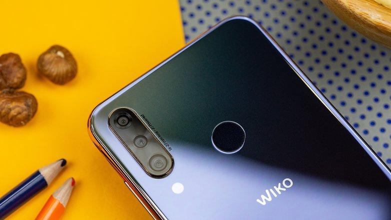 androidpit wiko view 3 professionelle dreifachkamera
