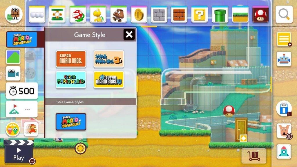 Trò chơi này có 5 Phong cách của trò chơi, mỗi người có một chủ đề khác nhau cho mọi sở thích.