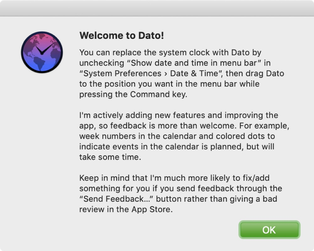Willkommen bei Dato Mac
