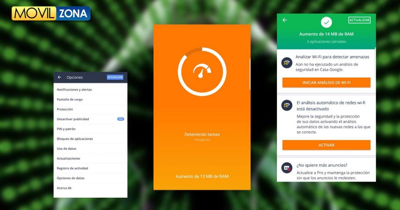 Aplicación Avast Free Mobile Security