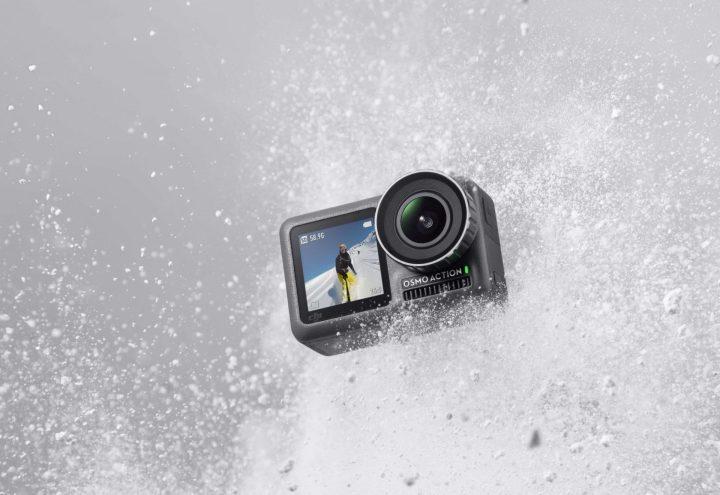 Für abenteuerlustige Eltern schießt diese Kamera in 4K und ist wasser-, stoß- und staubdicht. Genieße den Vatertag und präsentiere deinem Helden Osmo Action