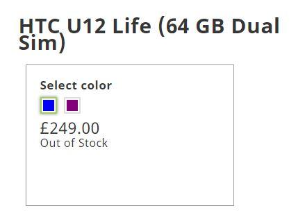 HTC, você se lembra deles? Agora você não pode comprar o celular dele. 1