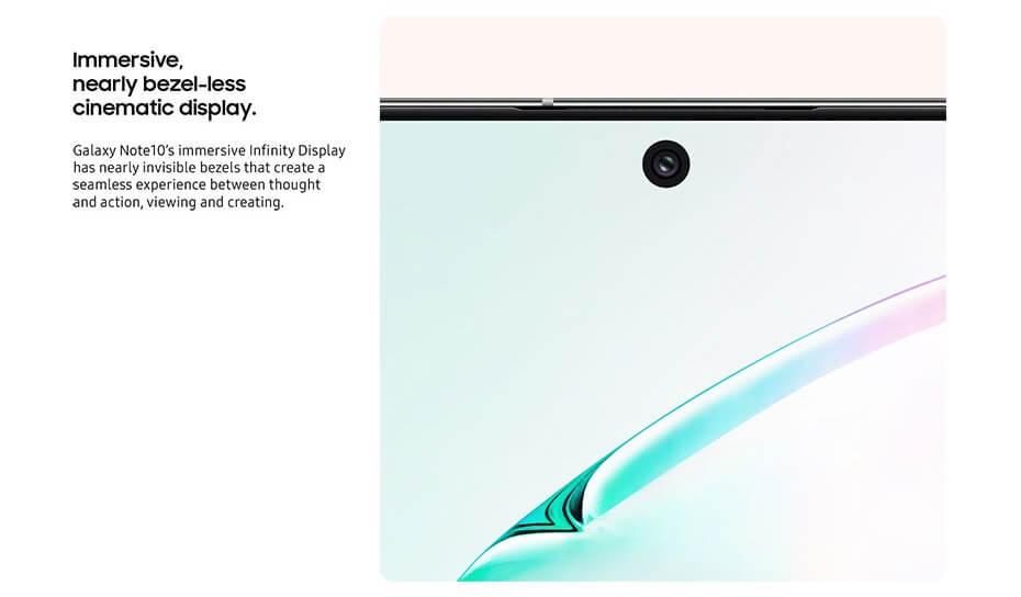 Galaxy Note 10 ќе дојде во две димензии, користете голема батерија за брзо полнење, шуплива селфи камера и уште многу 3