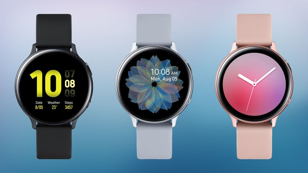 Smartwatch can manually track more than 39 exercises, with seven of them automatically activated.