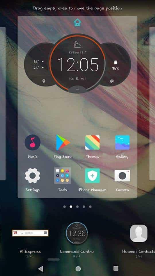 Kích hoạt tiện ích Đồng hồ vòng tròn Moto Z trên Android của bạn mà không cần root (Weather Widget v4) 5