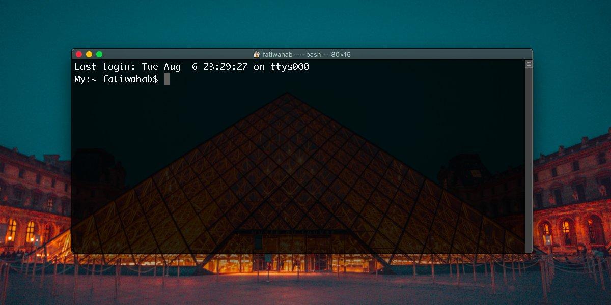 Varsayılan interaktiv qabığı necə gizlətmək artıq MacOS-dakı Terminal-da zsh 'mesajıdır 2