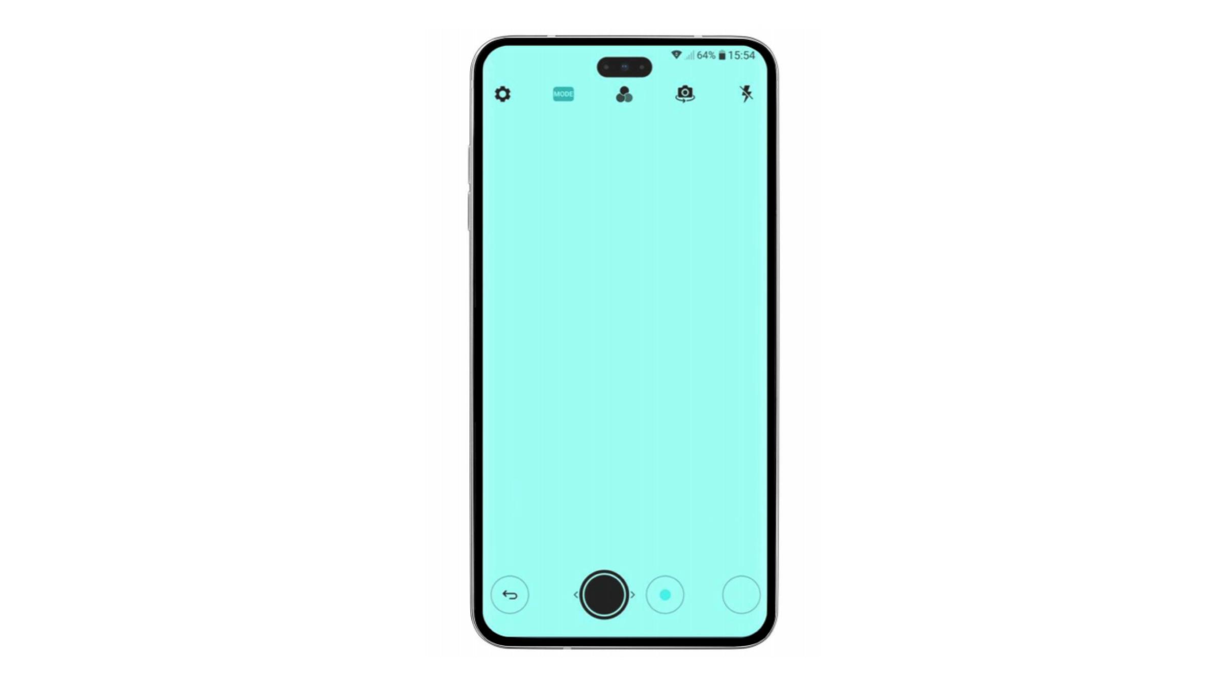 Смартфон LG Невидлива селфи камера