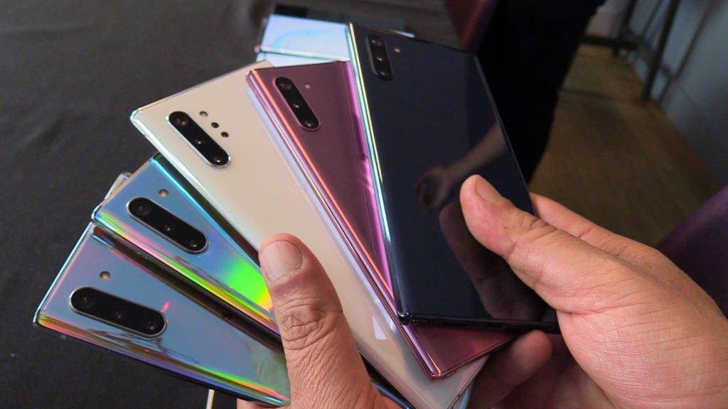 Galaxy Note        10 və Note 10+: Meksikada qiymətlər və mövcudluq 1