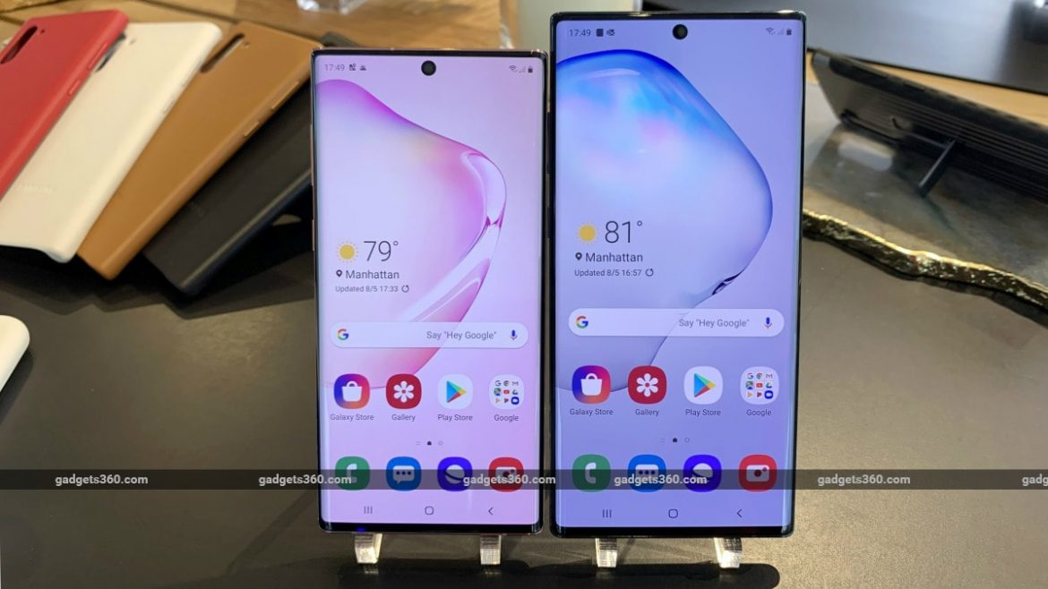 Samsung Galaxy Note 10, Galaxy Note 10+ With Up to 12GB of RAM Launched: Price, Specifications, and Features
