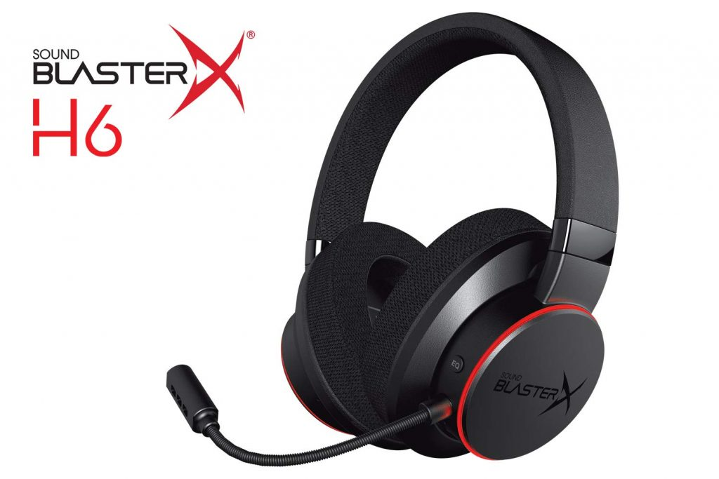 Sound BlasterX H6, pelikuulokkeet USB-pelimikrofonilla