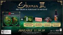 Chi tiết bạc sâu Phần thưởng phụ tùng Shenmue III 3
