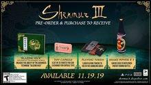 Chi tiết bạc sâu Phần thưởng phụ tùng Shenmue III 2