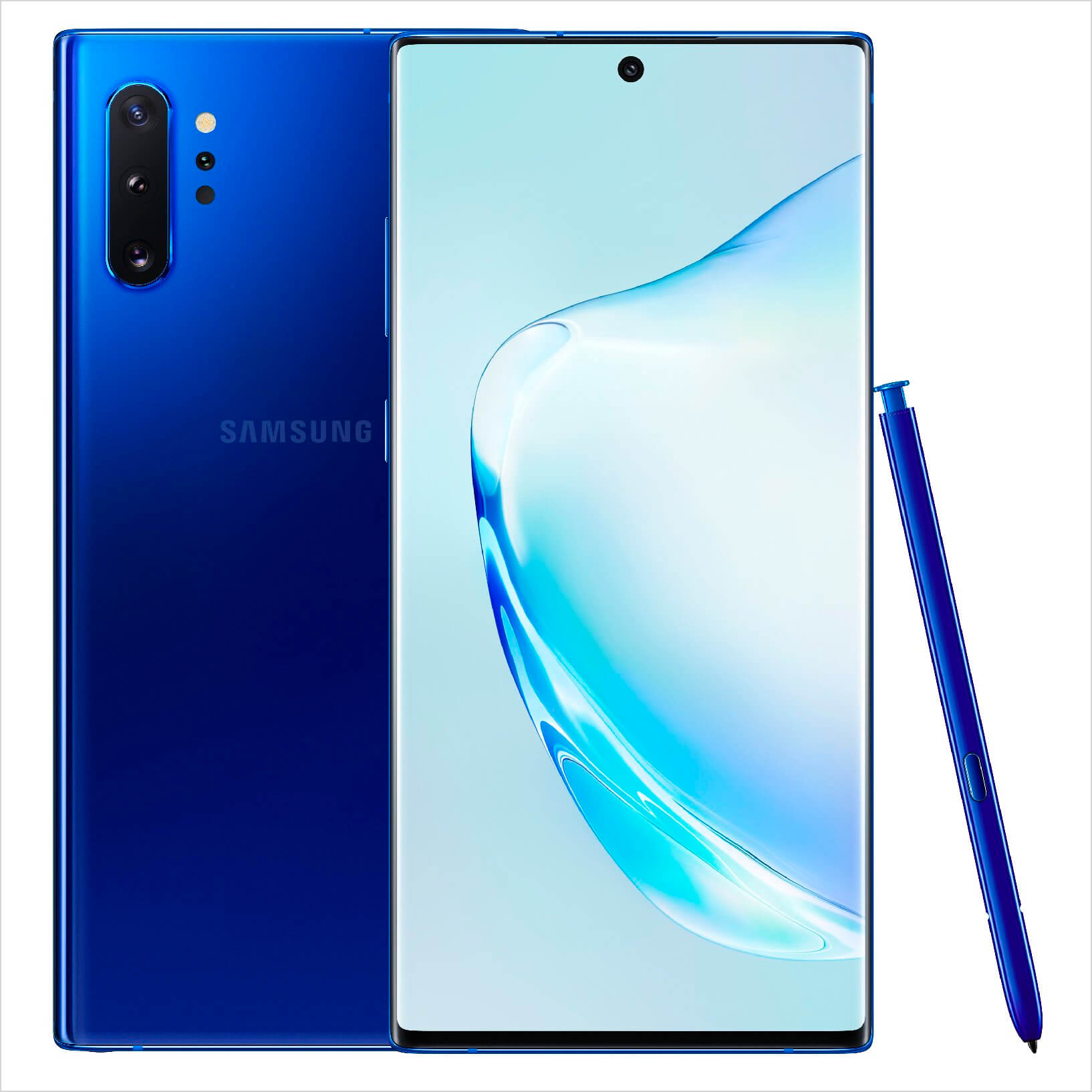 Samsung Galaxy Note        10+ mavi
