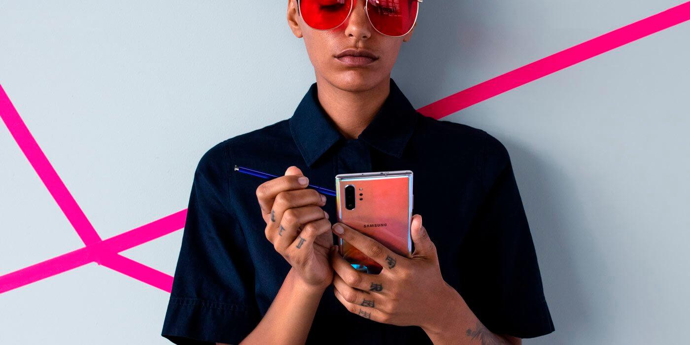 Samsung Galaxy Note        10 vs iPhone XS və Huawei P30: müqayisə 8