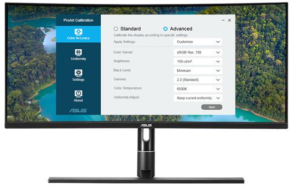 Sekilas: Asus ProArt PA34VC Professional Review Monitor Melengkung 2