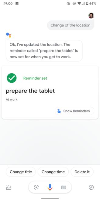 Google köməkçidən qaçmaq üçün xatırlatmaları məcbur edir 9