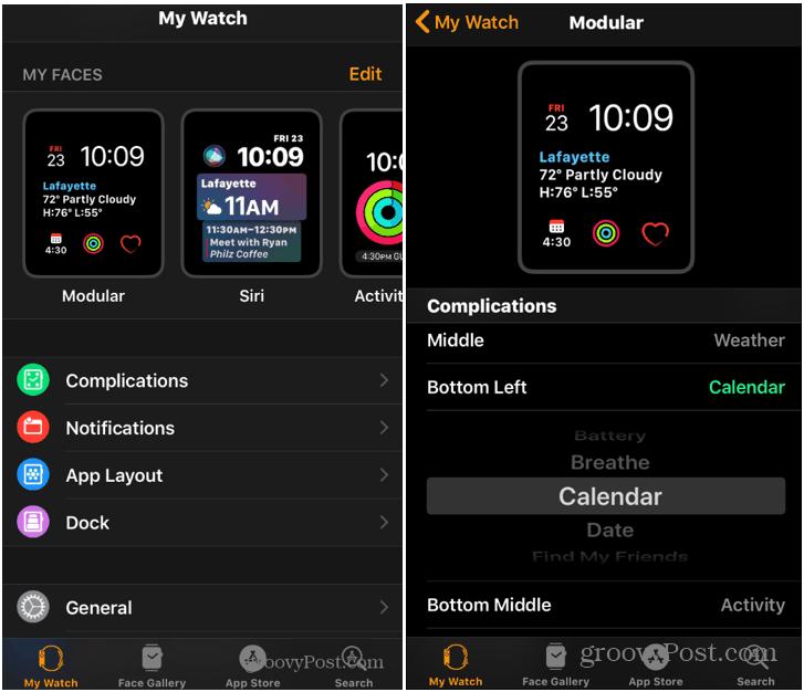 Ako skontrolovať kalendár z Apple Watch 2