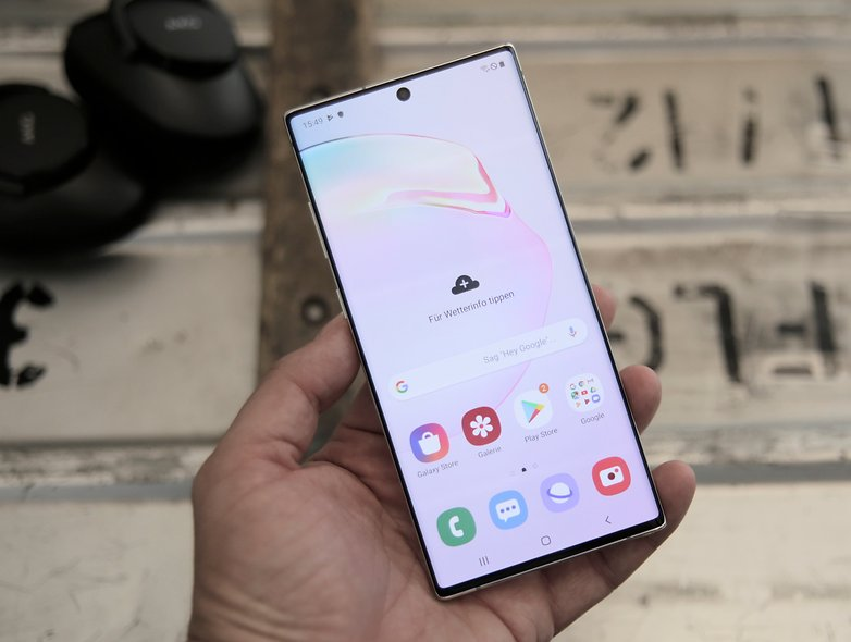 Samsung Galaxy Note  10 plus practical test 08