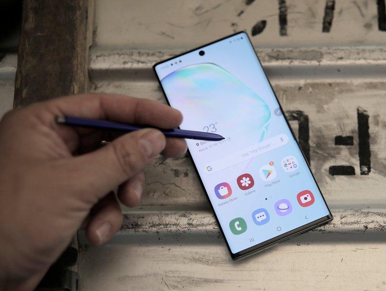 Samsung Galaxy Note  10 plus practical test 11