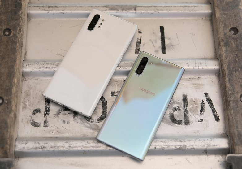 Samsung hand test Galaxy Note  10 Plus 13