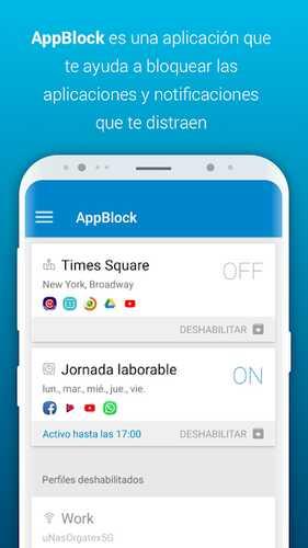Android tətbiqini bloklayın