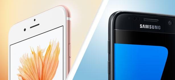 "Apple vs Samsung ""ancho ="" 615 ""altura ="" 280 ""srcset ="" ""srcset ="" https://www.leak.com/wp-content/uploads/2019/01/apple-vs-samsung.jpg 615w, https://www.leak.pt/wp-content/uploads/2019/01/apple-vs-samsung-95x43.jpg 95w, https://www.leak.pt/wp-content/uploads/2019/01 /apple-vs-samsung-350x159.jpg 350w ""size ="" (ancho máximo: 615px) 100vw, 615px"