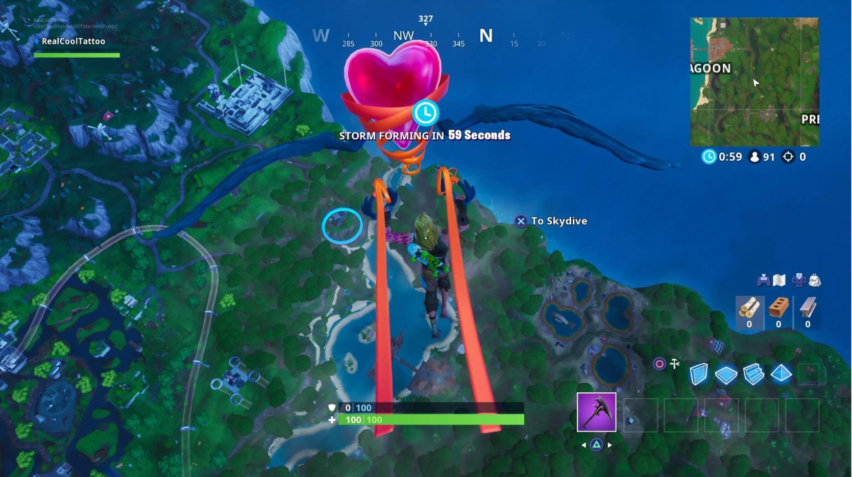 Fortnite: Guía de ubicación de Fortbyte - Cada desafío en un solo lugar 3