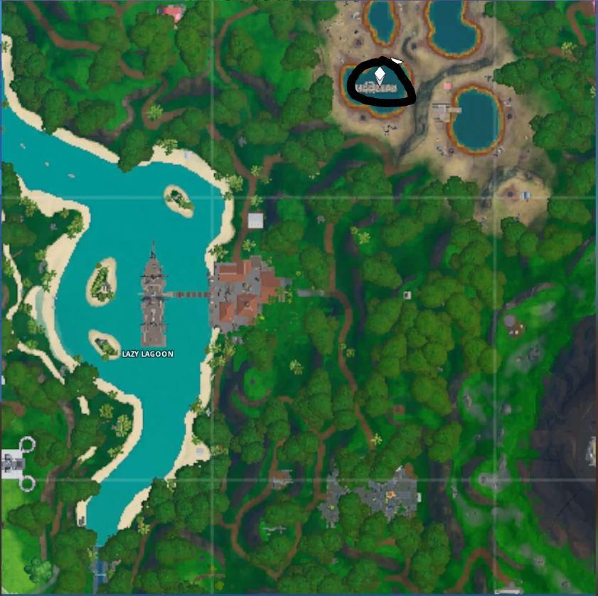 Fortnite: Guía de ubicación de Fortbyte - Cada desafío en un solo lugar 9