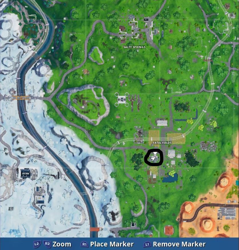 Fortnite: Guía de localización de Fortbyte - Cada desafío en un solo lugar 27