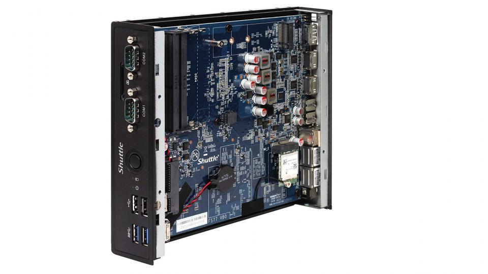 Shuttle Review DS77U7: esta mini PC es un poco insegura 1