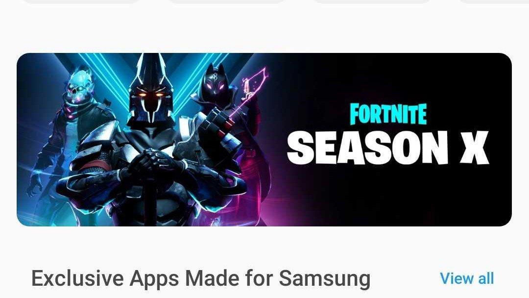 Cài đặt thế nào Fortnite trên thiết bị Samsung