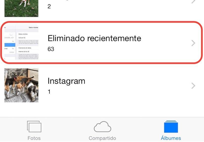 Обнови фотографии избришани од iOS од