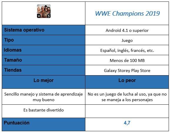 """Tabla de partidos de la WWE Champions 2019 """"width ="""" 581 """"height ="""" 451"""