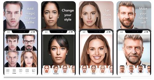 IPhone üçün ən yaxşı üz dəyişikliyi tətbiqidir 2