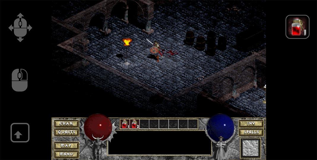 Слики од екран на Android Diablo