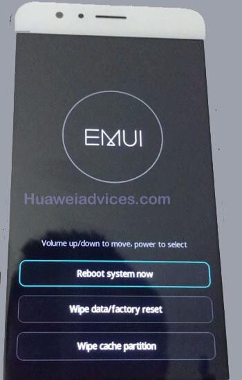 mode pemulihan stok telepon Huawei kehormatan