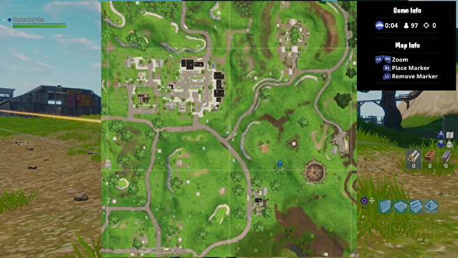 Fortnite    Search for Bears, Craters and Coolers - Sunday 8 Search Treasure Challenge 2 Location Maps