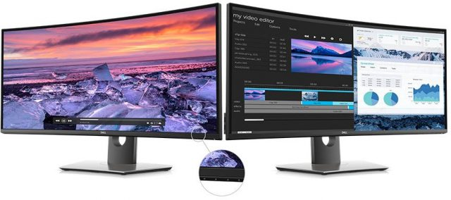 Sekilas: Dell UltraSharp U3419W Curved USB-C Monitor Review 2