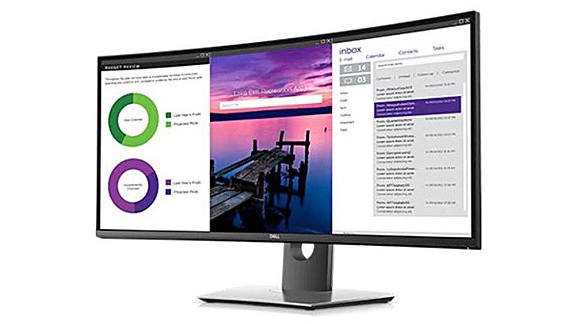 Sekilas: Dell UltraSharp U3419W Curved USB-C Monitor Review
