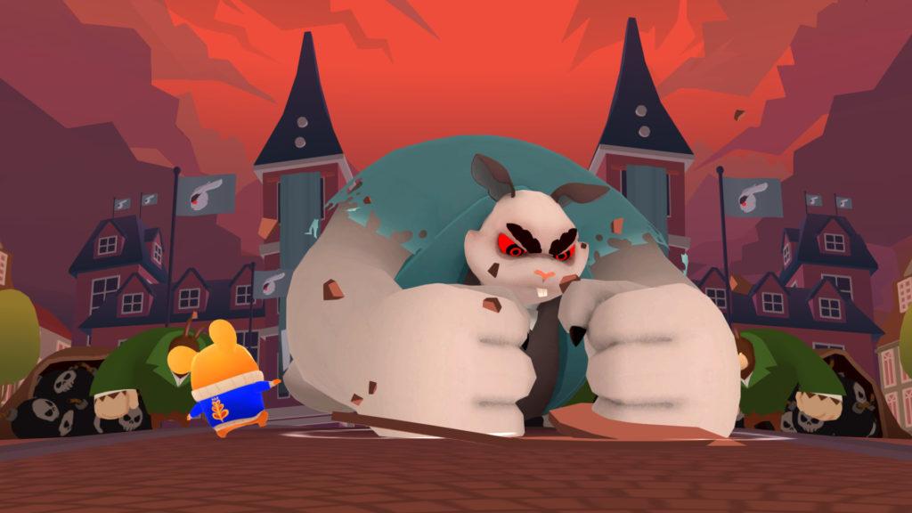Pertarungan hamster