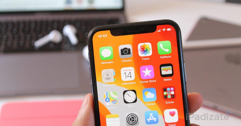 iOS 13 en iPhone