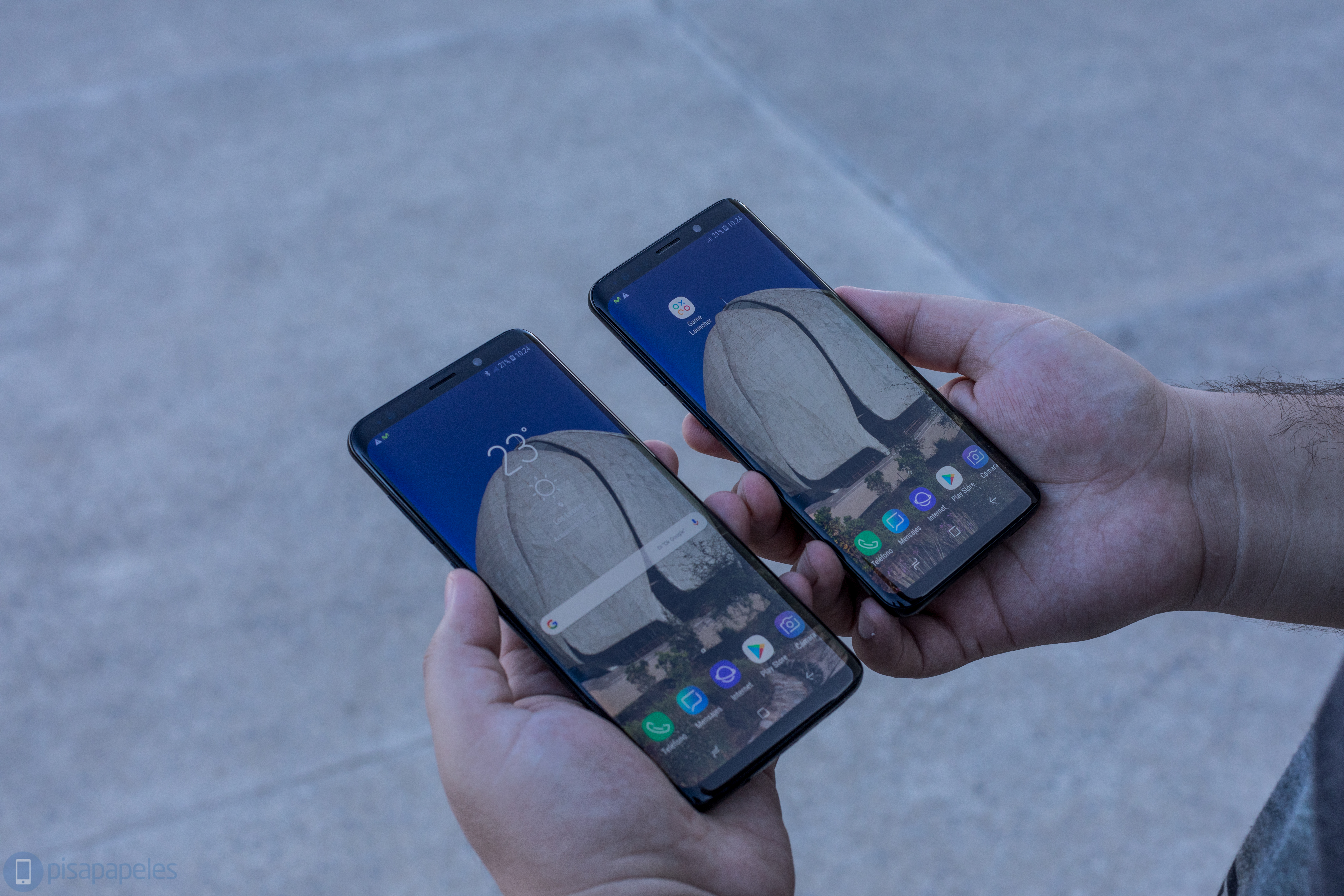 """Opiniones de Samsung Galaxy S9 y Galaxy S9 + 2""""ancho ="""" 6720 """"altura ="""" 4480"""