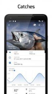 """Fiskepunkter: GPS, tidvatten och fiskeprognos """"bredd ="""" 168 """"höjd ="""" 300"""