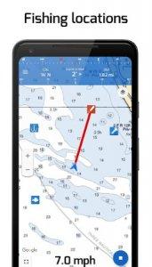 """Fiskeplatser: GPS, tidvatten och fiskeprognos """"bredd ="""" 171 """"höjd ="""" 300"""