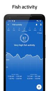 """Fiskeplatser: GPS, tidvatten och fiskeprognos """"bredd ="""" 164 """"höjd ="""" 300"""