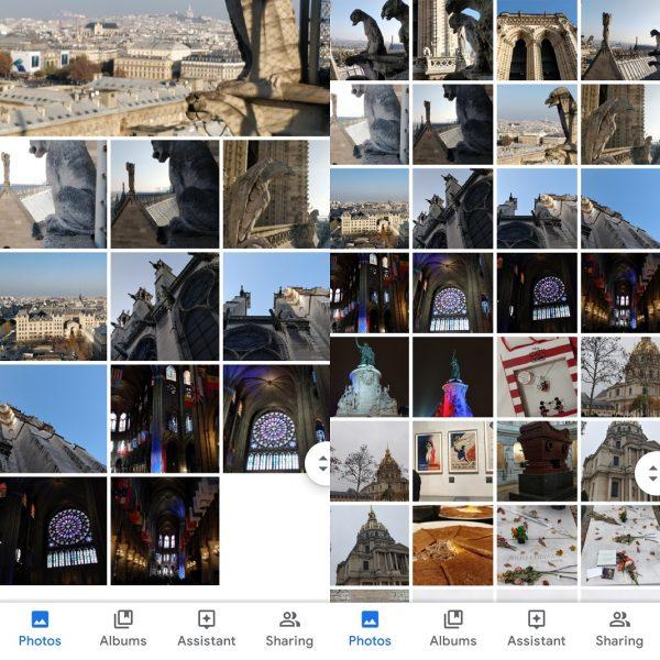 Google Fotoşəkillər - Ekranı dəyişdirin