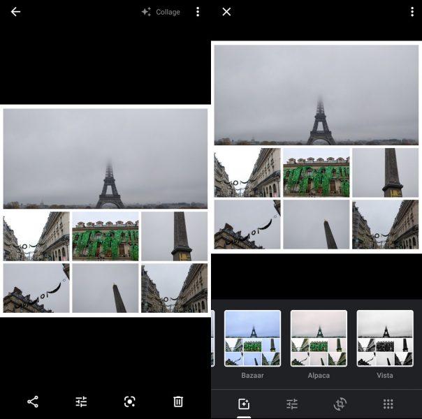 Kolaj və Google Şəkillər