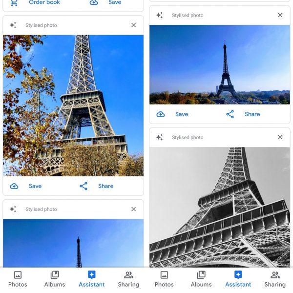 Perbaikan ulang Foto Google secara otomatis